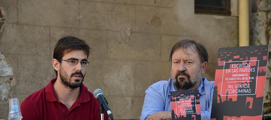 imatge de  Nil Ventós y Jaume Torrent > Escritos en las paredes. Indignados, de Mayo del 68 al 15-M