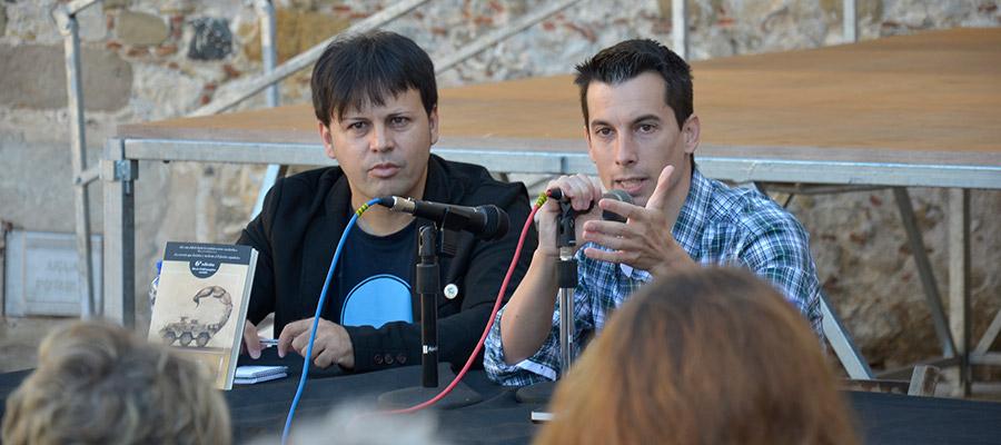 imatge de  Luis Gonzalo Segura i Óscar Sipán > Presó per publicar una novel·la al segle XXI