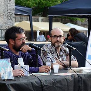 imatge de Paco Inclán y Víctor Gomollón > Tantas mentiras