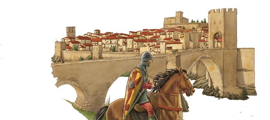 imatge de  Tura Clarà > Un recorregut pel Besalú Medieval