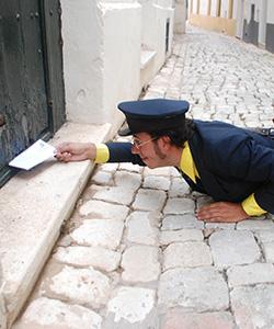 imatge de Postal Express, amb Pere Hosta