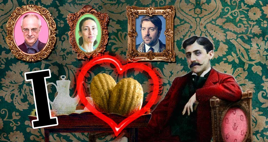 """imatge de  Albert Serra, Fèlix Fanés i Valèria Gaillard > Proust i """"notre vraie vie"""