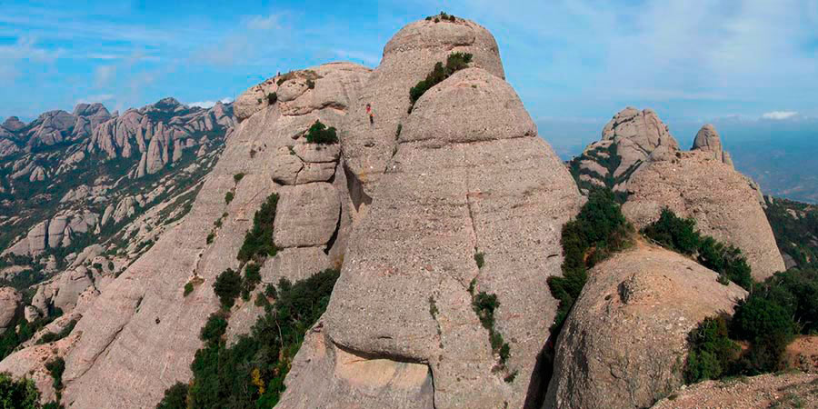 imatge de  Albert Masó > Els mil cims de Montserrat