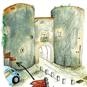 imatge de Laura Reixach i Gerard Bagué > Girona, a traç de llapis