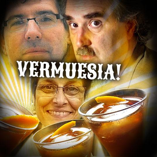 imatge de Valentí Gómez-Oliver, Àngela Ribas y Pere Perelló > ¡Vermuesía!