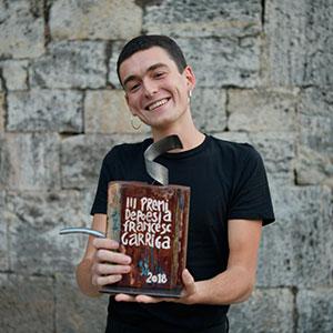 imatge de Proclamació del guanyador/a del Premi Francesc Garriga de Poesia 2019