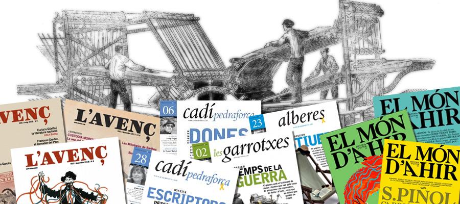 imatge de  Àngel Madrià, Núria Iceta i Toni Soler > Editar revistes en paper i en català el 2020