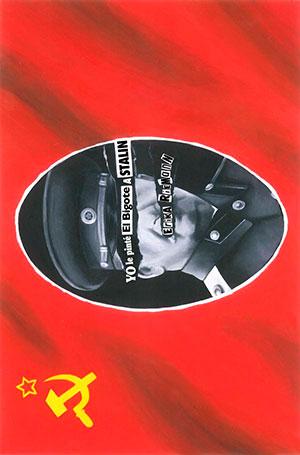 Yo le pinté el bigote a Stalin